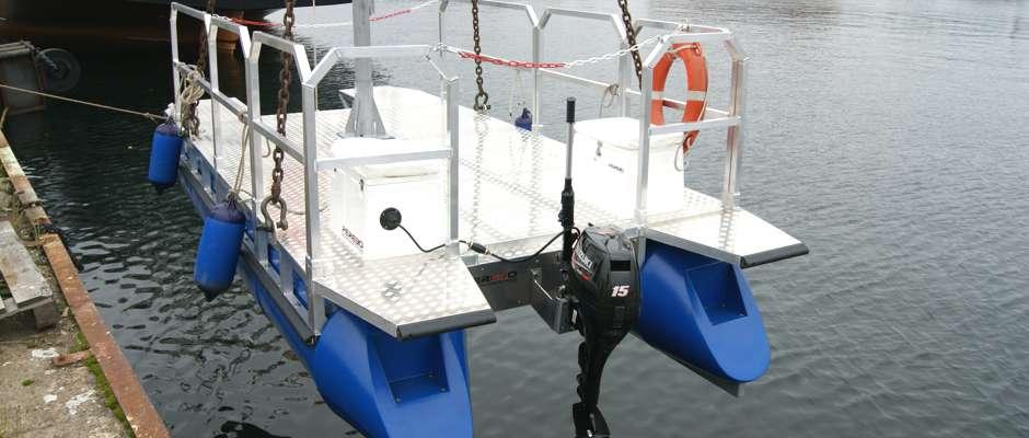 work catamaran