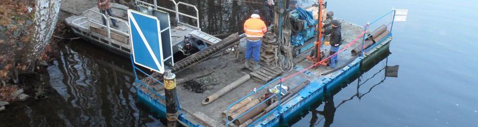 special floating work platform