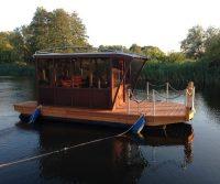 pontoon camping boat