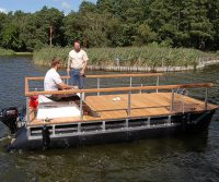pontoon catamaran