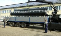 shipment of a pontoon kit