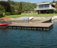 DIY floating dock