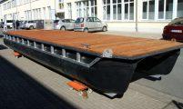 catamaran raft to water hiking