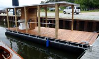 BBQ boat with WC