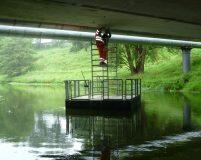 bridge access pontoon