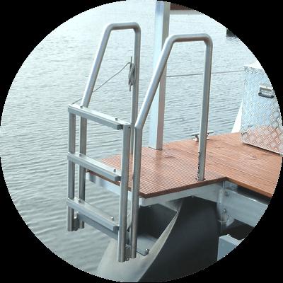 foldable swim ladder