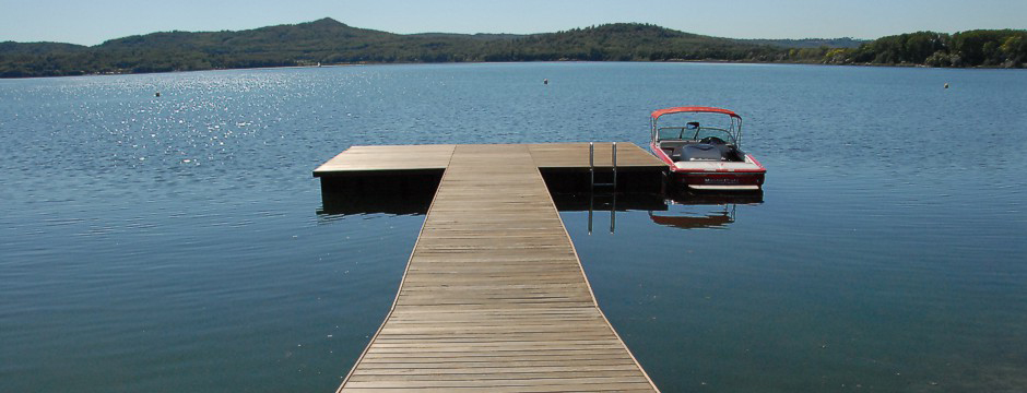 Pontoons and floating systems - floats and floating platforms