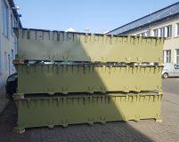 connectable steel pontoons
