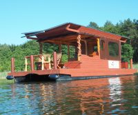handmade houseboat