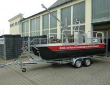 Ponton-Arbeitsboot