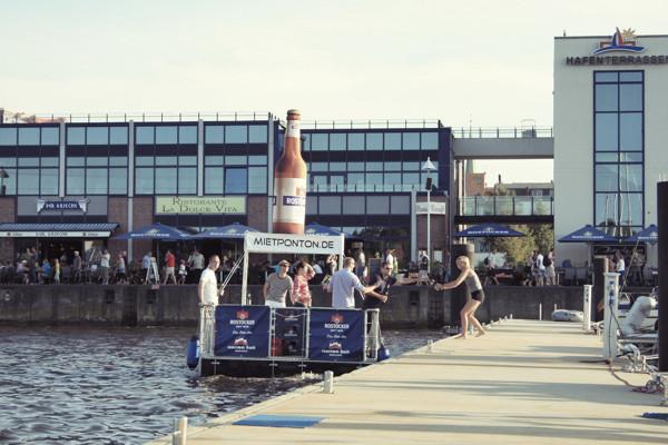 promotion schwimmplattform ostsee