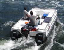 GFK Pontonboot