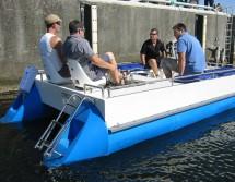 Pontontretboot