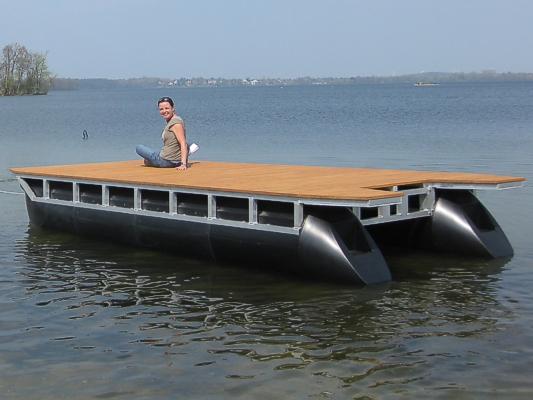 Perebo Schwimmsysteme Perebo Pontonboote F 252 R Jeden