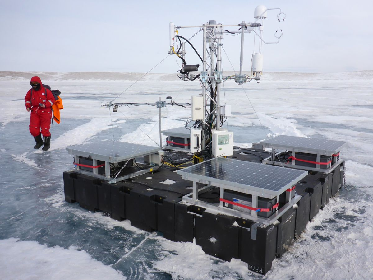 AWI-Messplattform-Sibirien
