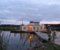 Hausboot mit Dachterrasse