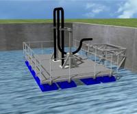 Entwurf schwimmende Pumpenplattform