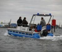 Polizei-Einsatzboot