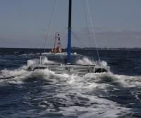 Schleppverband Schnellboot-Seezielponton