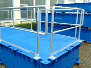 Stahlgelaender für PSK-10