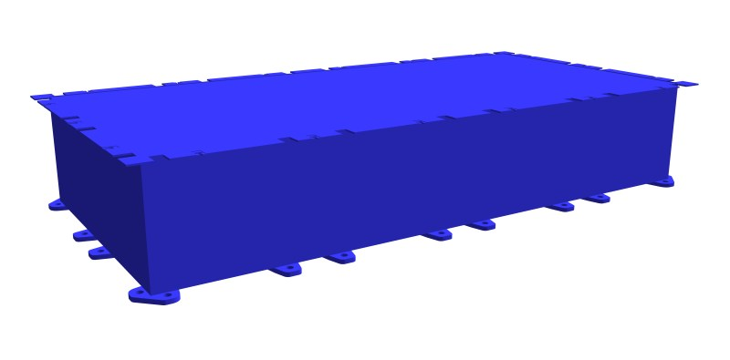 stahlkoppelponton-PSK-10 Mittelteil