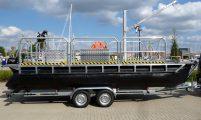 trailerbares Arbeitsboot