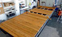 Freizeitboot - Aufbau Decksbelag