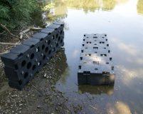 modular koppelbare Plastikschwimmer