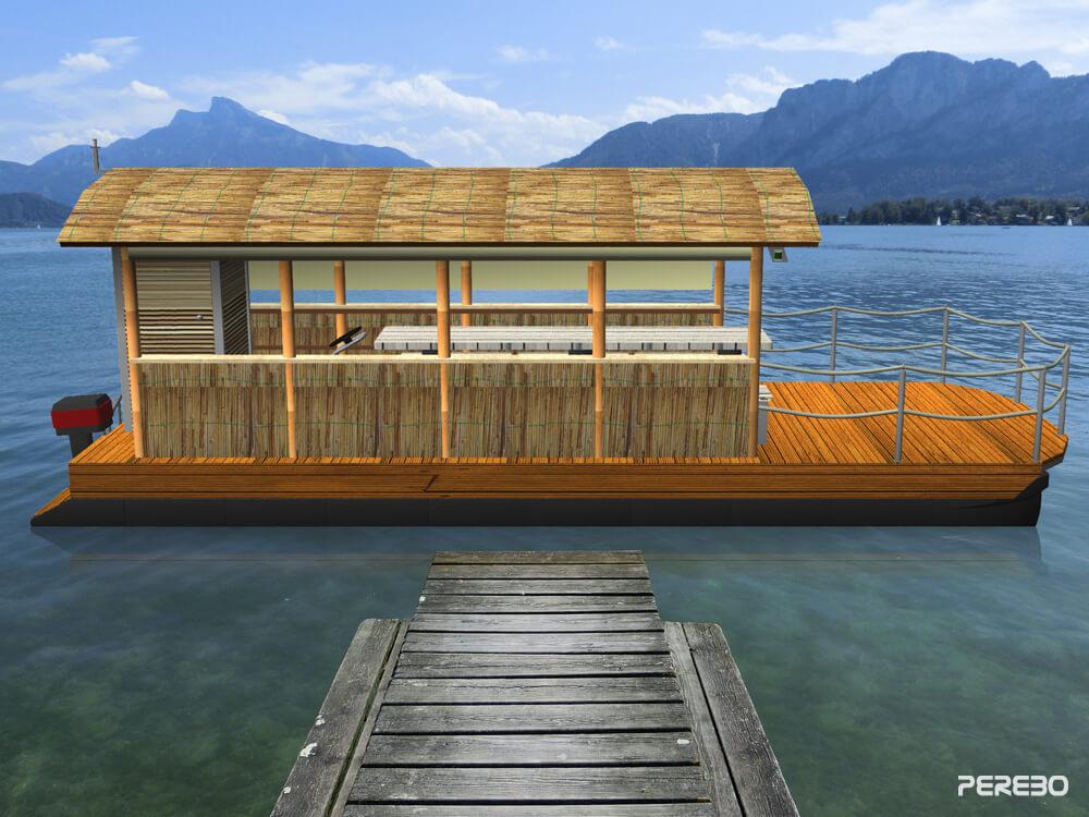 ponton partyboot