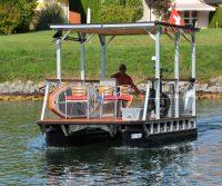 Solar-Pontonboot