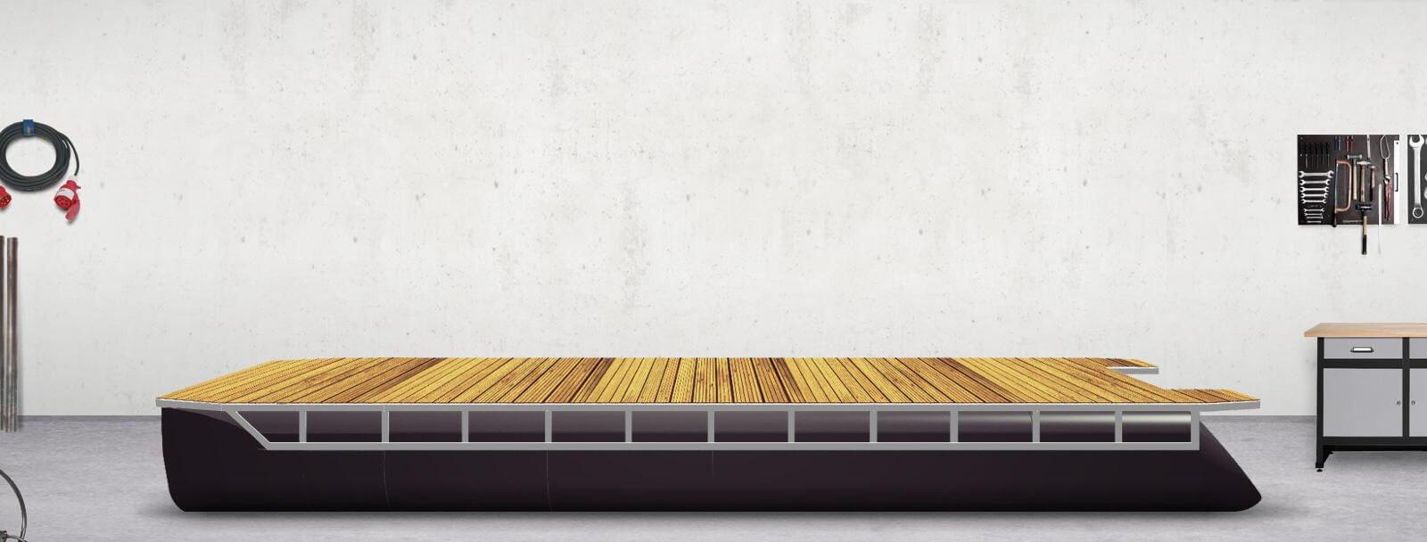 Decksbelag (Holz, Lärche)