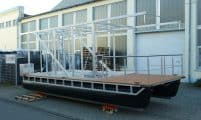 Pontonbausatz für Hausbootbau