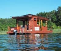 Sommer-Hausboot