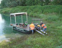 Gewässerpflege Boot