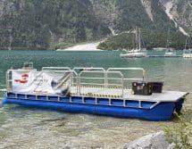 Einsatzboot für Taucher