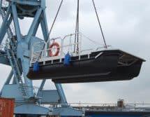 Mehrzweck Arbeitsboot