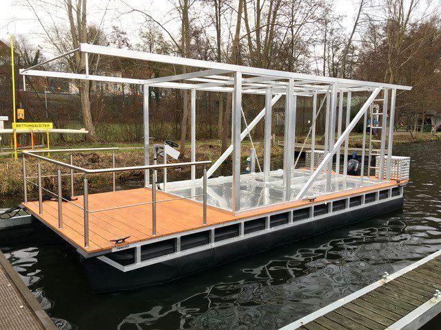 Pontonboot-Bausatz